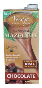 Pacific Foods Hazelnut Milk Chocolate - 32 ozs.