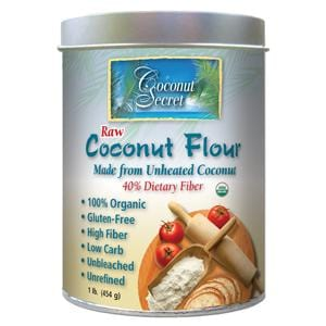 Coconut Secret Coconut Flour Raw Organic - 1 lb.