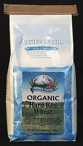Azure Farm Wheat Hard Red Organic - 5 lbs.