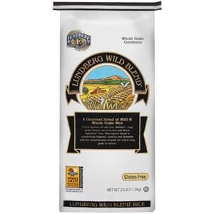 Lundberg Wild Rice Blend, Eco-Farmed - 25 lbs.