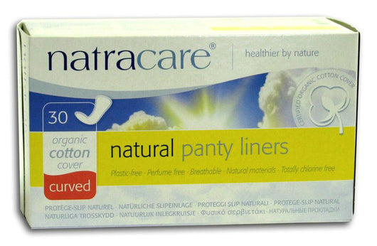 Natracare Curved Panty Liners - 30 ct.
