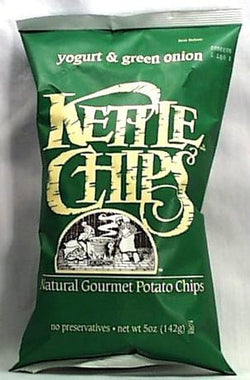 Kettle Foods Potato Chips Sour Cream & Onion - 12 x 9 ozs.