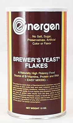 Energen Brewer's Yeast Flakes - 12 ozs.