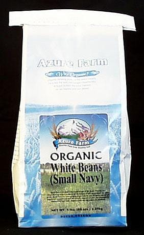 Azure Farm White Beans Small Navy Organic - 5 lbs.
