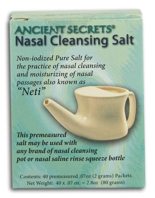 Ancient Secrets Nasal Cleansing Salt - 40 pks.