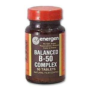 Energen Balanced B 50 mg - 50 tablets