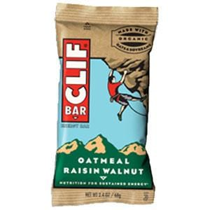 Clif Bar Oatmeal Raisin Walnut Bar - 12 x 2.4 ozs.