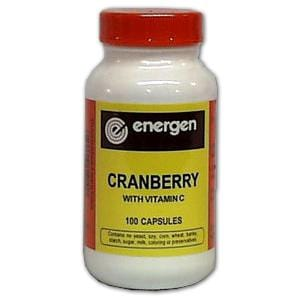 Energen Cranberry with Vitamin C - 100 caps