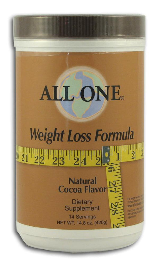 All-One Weight Loss Formula Cocoa Flavor - 14.8 ozs.