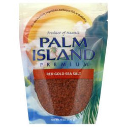 Palm Island Premium Sea Salt, Red Gold - 6 x 6 ozs.