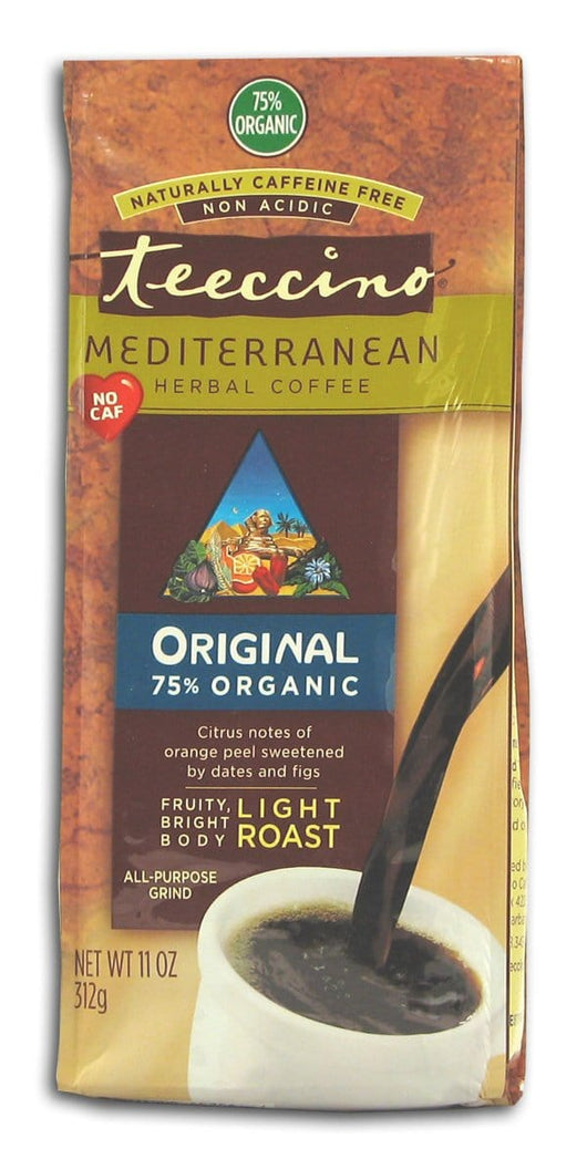 Teeccino Original Herbal Coffee - 6 x 11 ozs.