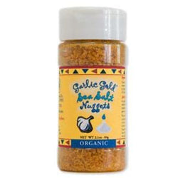 Garlic Gold Garlic Sea Salt Nuggets, Organic - 2.3 ozs.