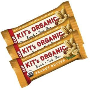 Clif Bar Kit's Organic Peanut Butter Fruit & Nut Bar  - 3 x 1.76 ozs.