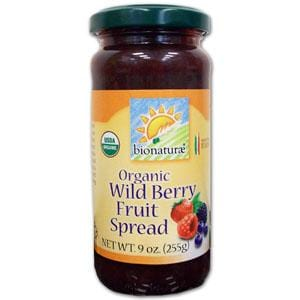 Bionaturae Wildberry Fruit Spread Organic - 12 x 9 ozs.