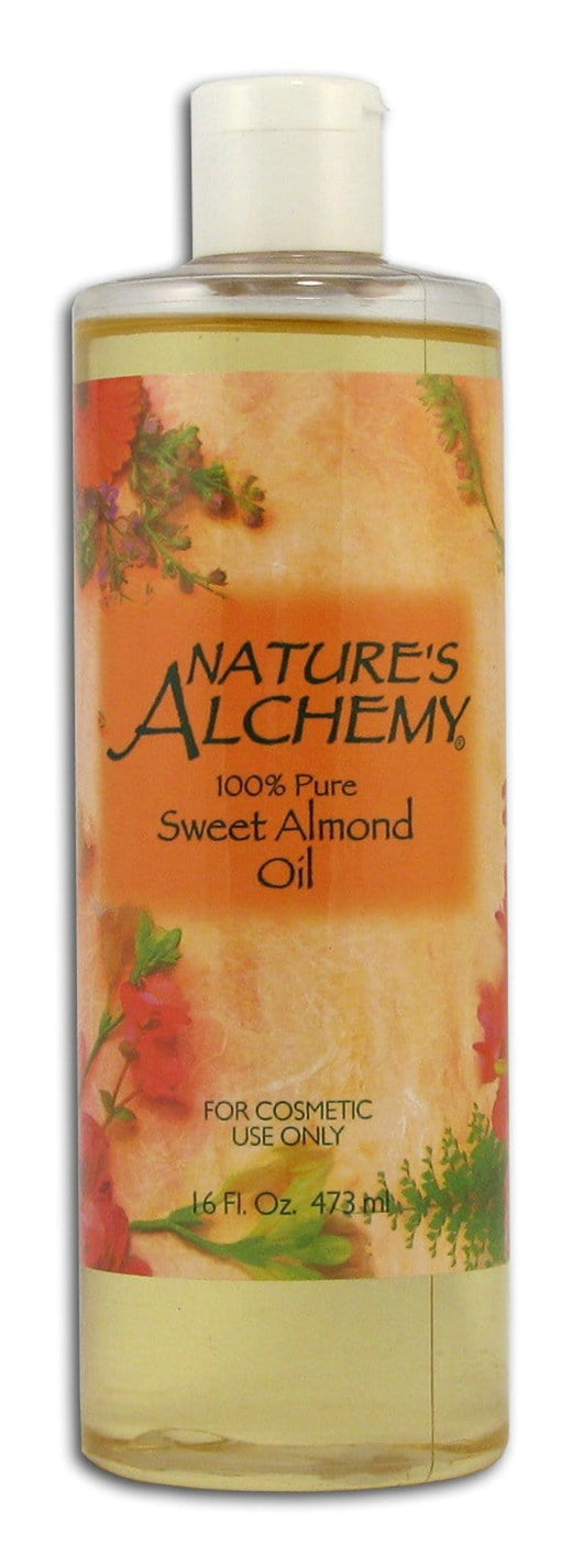 Nature's Alchemy Almond Oil - 16 ozs.