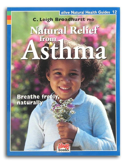 Books Natural Relief From Asthma - 1 book