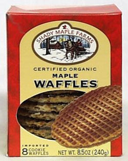 Shady Maple Farm Maple Waffles Organic - 8 x 8.5oz
