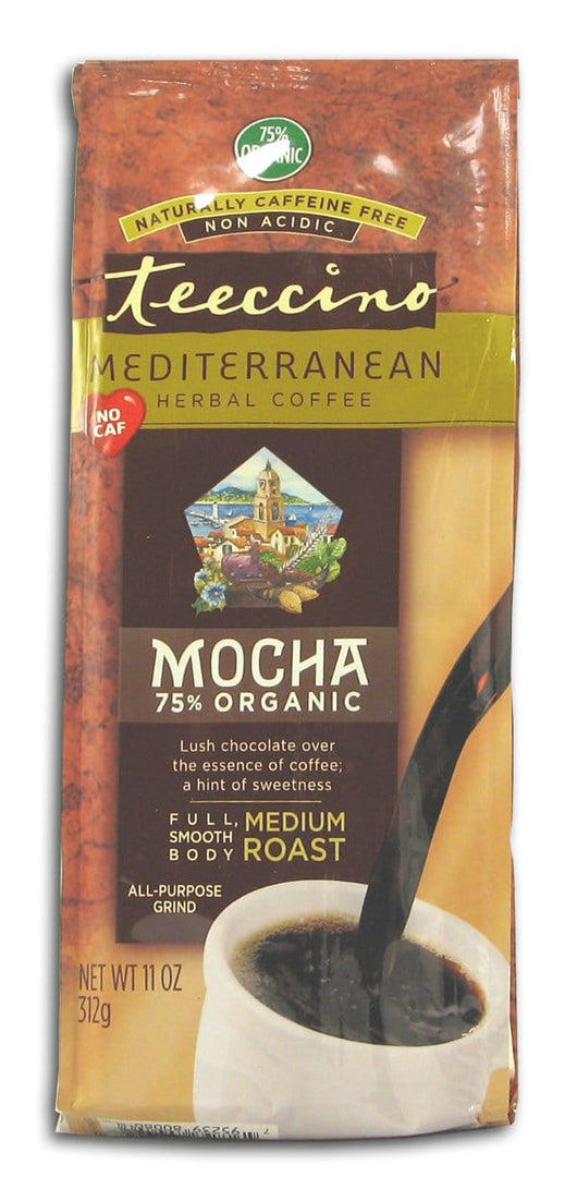 Teeccino Mocha Herbal Coffee - 11 ozs.