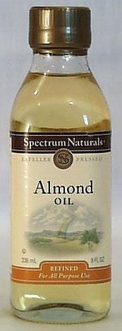 Spectrum Almond Oil - 8 ozs.