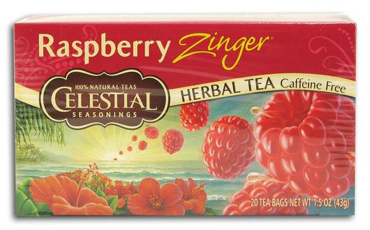 Celestial Seasonings Raspberry Zinger Tea - 1 box