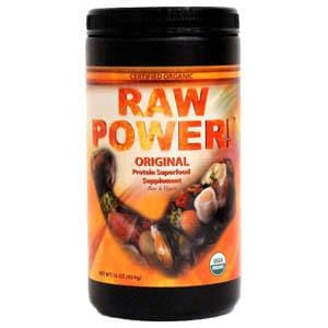 Raw Power Protein Superfood Supplement, Original, Organic - 16 ozs.