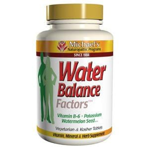 Michael's Naturopathic Programs Water Balance Factors - 60 tablets