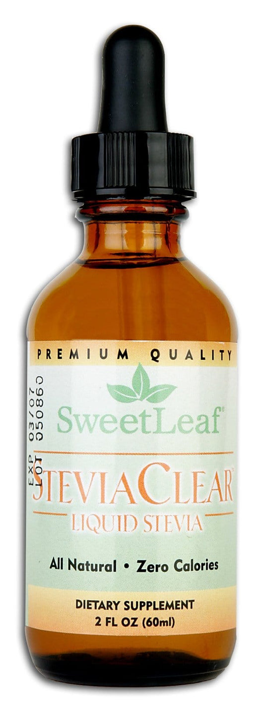 Sweet Leaf Stevia Extract Clear Liquid - 2 ozs.