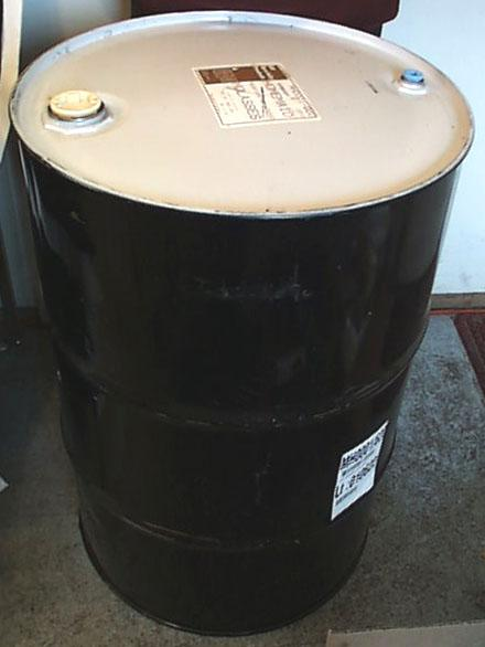 Bulk Metal Bung Barrel - 55 gallons