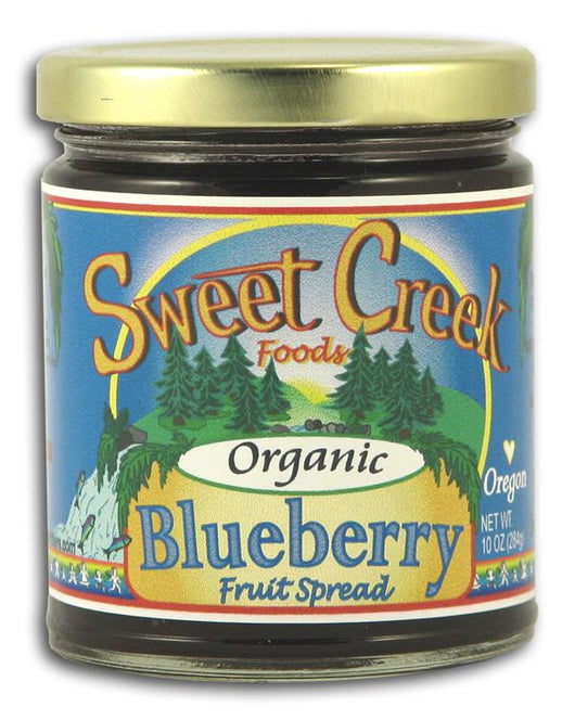 Sweet Creek Foods Blueberry Fruit Spread Organic - 12 x 10 ozs.