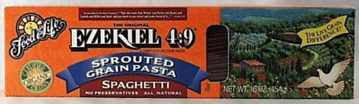 Food For Life Ezekiel 4:9 Spaghetti Organic - 6 x 16 ozs.