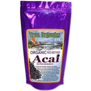 True Organics Acai Powder Organic - 8 ozs.