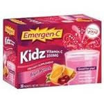 Alacer Emer'gen-C Kidz Fruit Punch 30 packets