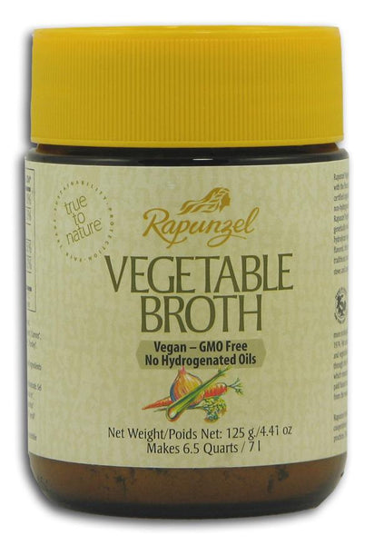 Rapunzel Vegetable Soup Broth Organic - 4.41 ozs.