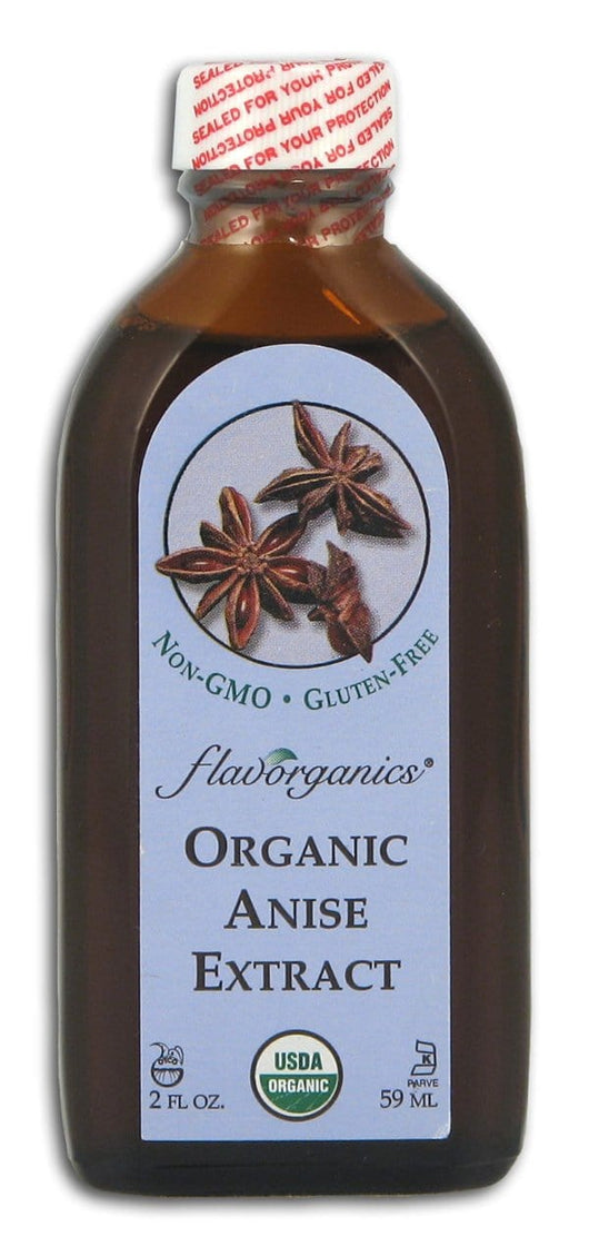 Flavorganics Extract Pure Anise Organic - 2 ozs.