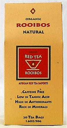 African Red Tea Rooibos Natural Tea Organic - 1 box