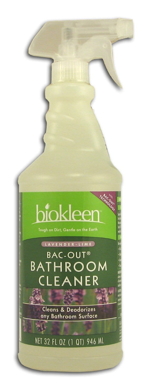 Biokleen Bac-Out Bathroom Cleaner Lavender-Lime - 32 ozs.