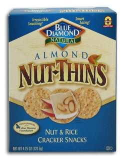 Blue Diamond Almond Nut Thins - 12 x 4.25 ozs.