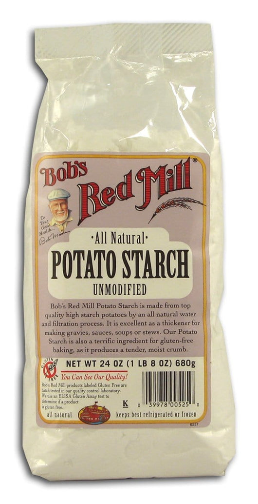 Bob's Red Mill Potato Starch Unmodified All Natural - 4 x 24 ozs.