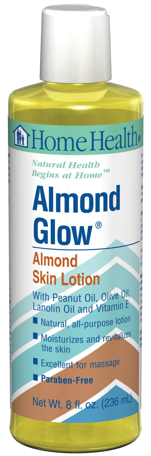 Home Health Almond Glow Massage Oil - 8 ozs.
