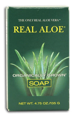 Real Aloe Co. Aloe Vera Bar Soap - 4.75 ozs.