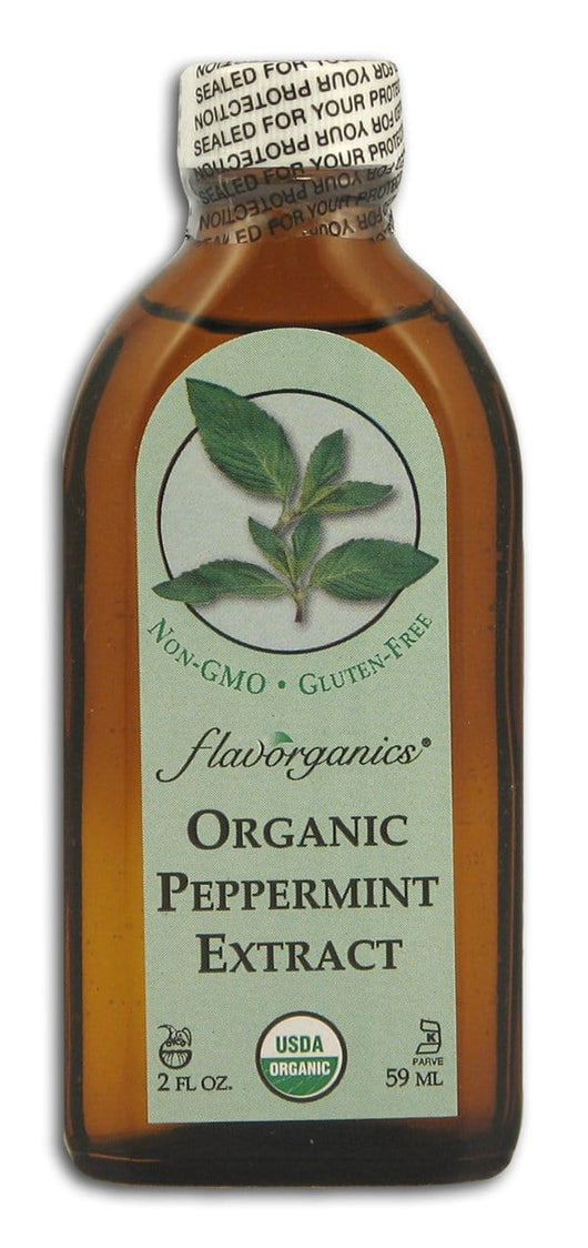 Flavorganics Extract Pure Peppermint Organic - 2 ozs.