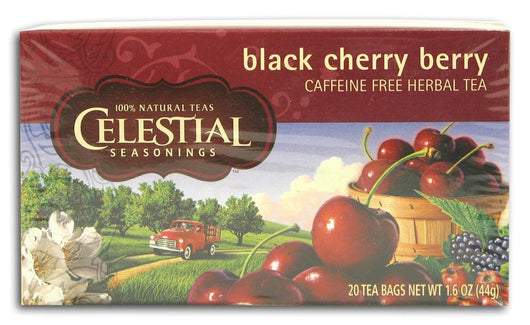 Celestial Seasonings Black Cherry Berry Tea - 1 box