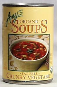 Amy's Chunky Vegetable Soup Organic - 12 x 14.3 ozs.