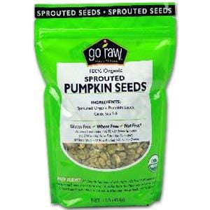 Go Raw Pumpkin Seeds, Sprouted, Organic - 1 lb.