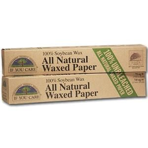 If You Care Waxed Paper Unbleached, All Natural - 12 x 75' roll