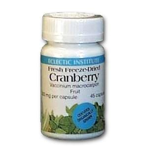 Eclectic Institute Freeze Dried Cranberry Organic - 45 caps