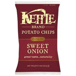 Kettle Foods Potato Chips, Sweet Onion - 12 x 9 ozs.