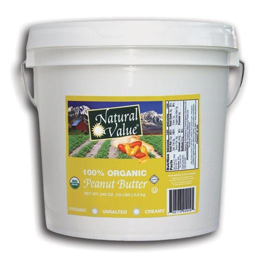 Once Again Nut Butter Inc. Peanut Butter Creamy NS Organic - 9 lbs.