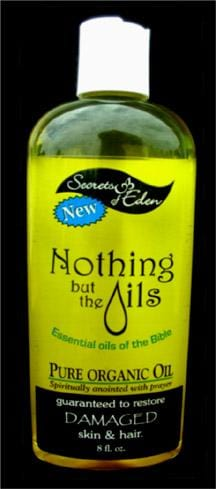 Secrets of Eden Nothing But the Oils - 8 ozs.