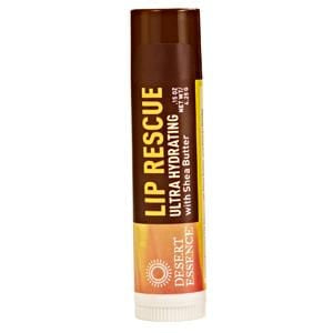 Desert Essence Lip Rescue, Ultra Hydrating with Shea Butter - 24 x 0.15 ozs.
